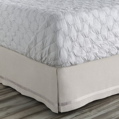 Shetler 300 Thread Count Bed Skirt Size: California King