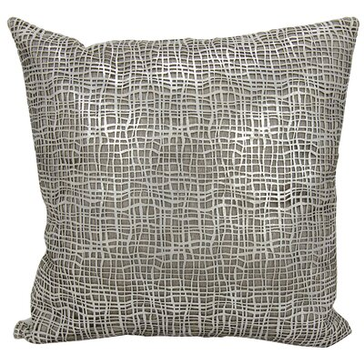 Dursley Throw Pillow Color: Silver