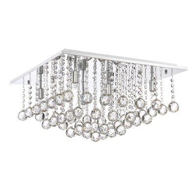 Toby 6-Light Flush Mount