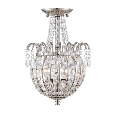 Corin 2-Light Semi-Flush Mount