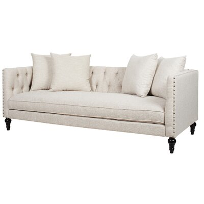 Jackson Chesterfield Sofa Upholstery: Oyster Grey