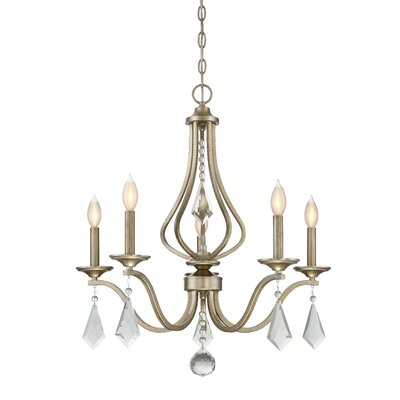 Warner 5-Light Candle-Style Chandelier