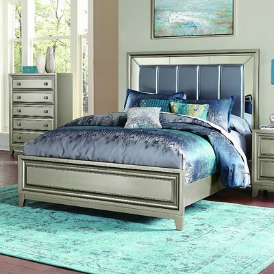 Bromford Upholstered Platform Bed Size: Queen