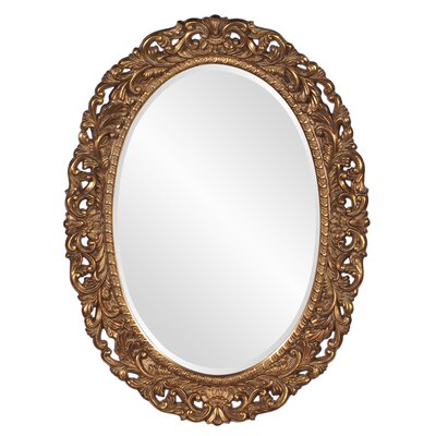 Luise Oval Resin Mirror
