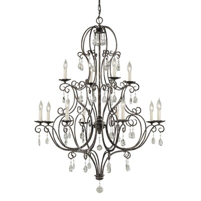 Esse 12-Light Crystal Chandelier