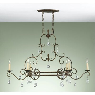 Esse 6-Light Candle-Style Chandelier