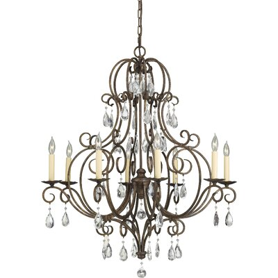 Esse 8-Light Crystal Chandelier