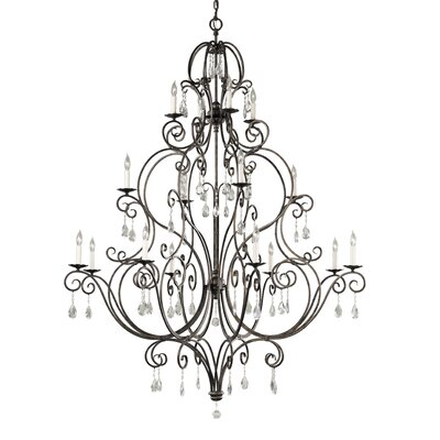 Esse 16-Light Candle-Style Chandelier