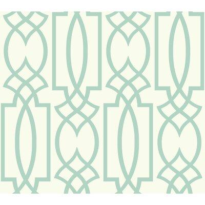 Coalville Lattice 27' x 27 Geometric Wallpaper