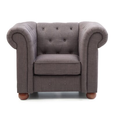 Katherina Armchair Color: Gray