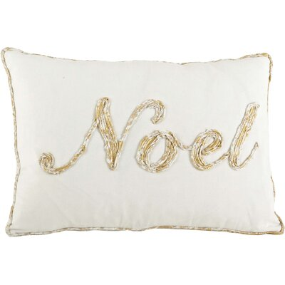 Cotton Throw Pillow Color: Gold