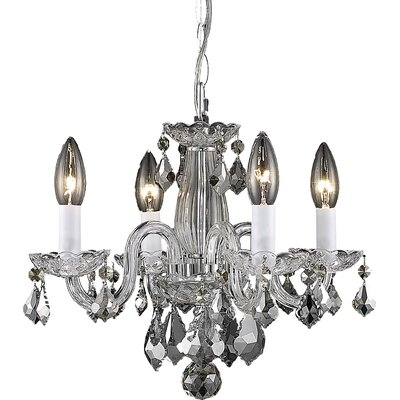 Carmen 4-Light Crystal Chandelier