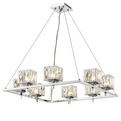 Delilah 8-Light Shaded Chandelier