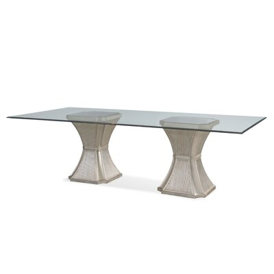 Rodger Dining Table Size: 76L x 44W x 30.25