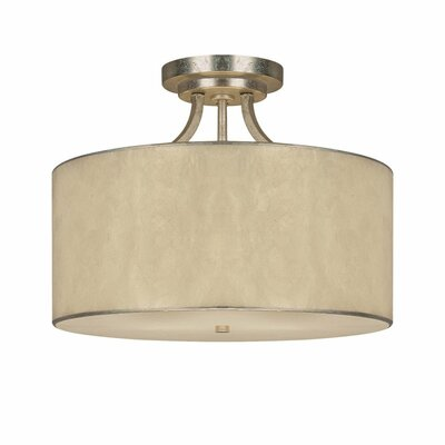 Joan 3-Light Semi Flush Mount