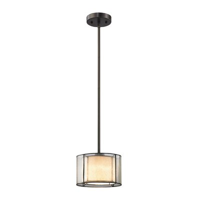 Griffith 1-Light Mini Pendant Bulb Type: 60W Incandescent