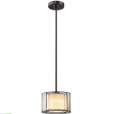 Griffith 1-Light Mini Pendant Bulb Type: 9.5W LED
