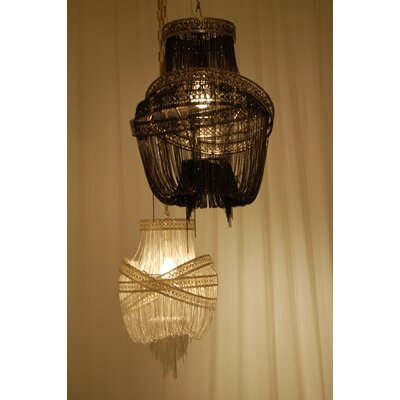 Middelburg 1-Light Geometric Pendant Finish: Silver
