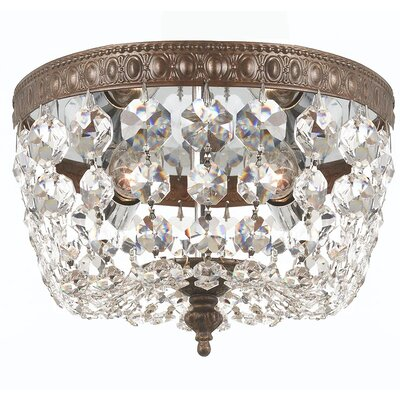 Aureolin 2-Light Flush Mount