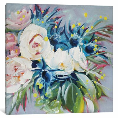 Unkempt Beauty Painting Print on Wrapped Canvas Size: 12