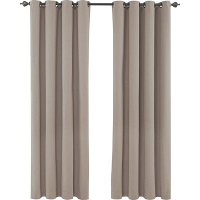 Remmy Grommet Single Curtain Panel