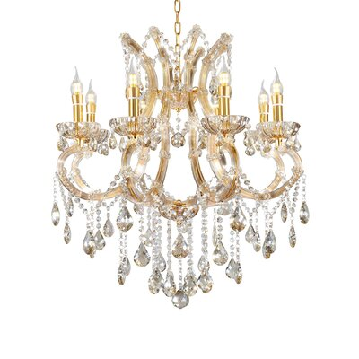McQueen 8-Light Crystal Chandelier
