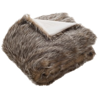 Olsen Fur Throw Blanket