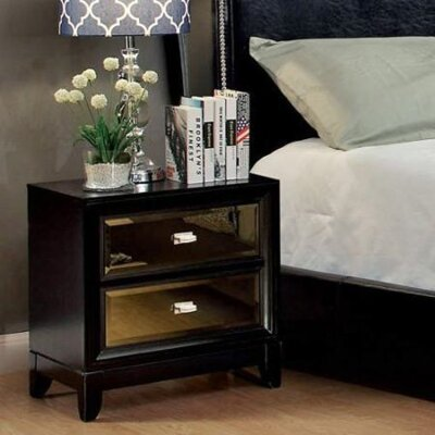 Travolta 2 Drawer Nightstand