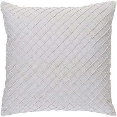 Thurston Linen Pillow Cover Size: 22 H x 22 W x 0.25 D, Color: White