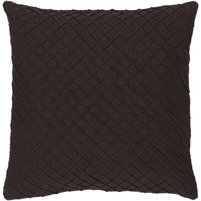 Thurston Linen Pillow Cover Size: 18 H x 18 W x 0.25 D, Color: Brown