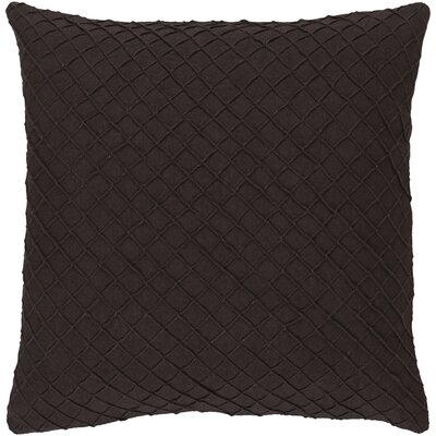 Warwick 100% Linen Throw Pillow Cover Size: 22 H x 22 W x 0.25 D, Color: Brown
