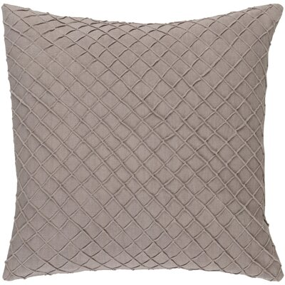 Warwick 100% Linen Throw Pillow Cover Size: 18 H x 18 W x 0.25 D, Color: Taupe