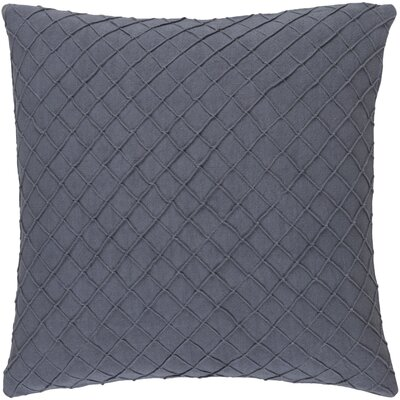 Warwick 100% Linen Throw Pillow Cover Size: 22 H x 22 W x 0.25 D, Color: Gray