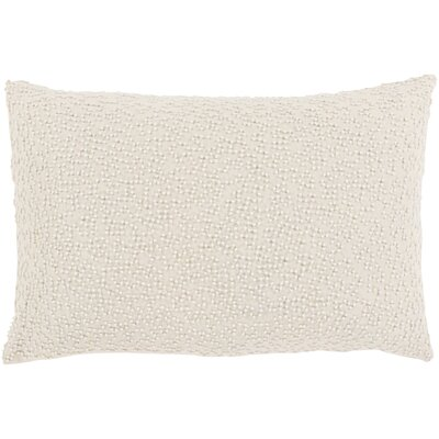 Oliver Linen Lumbar Pillow Cover Color: Neutral