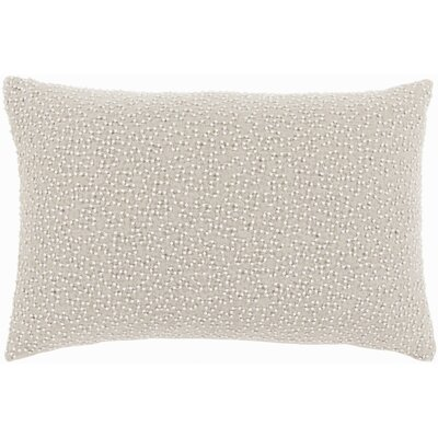 Oliver Linen Lumbar Pillow Cover Color: GrayNeutral