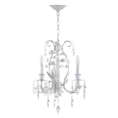 Chard 3-Light Crystal Chandelier
