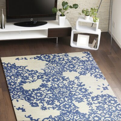 Libramont Hand Tufted Ivory Area Rug Rug Size: Rectangle 86 x 116