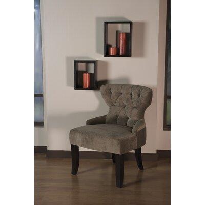 Feldman Upholstered Slipper Chair Upholstery: Vintage Shitake Velvet