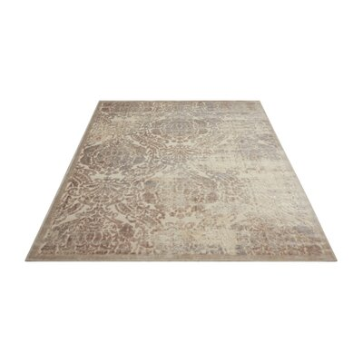 Christena Ivory Area Rug Rug Size: Rectangle 79 x 1010