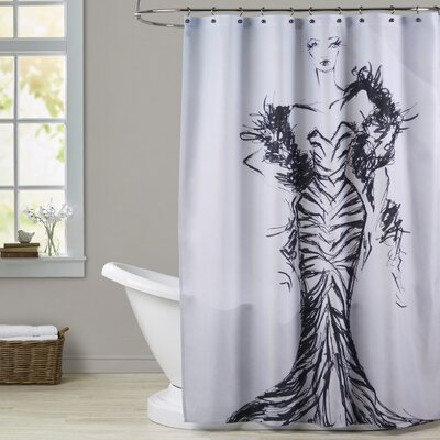 Gabriella Zebre Shower Curtain