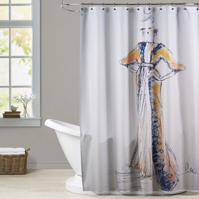 Ririe Old Hollywood Shower Curtain