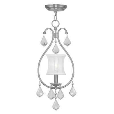 Sydow 1-Light Convertible Mini Pendant Finish: Brushed Nickel