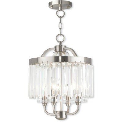 Caroline 4-Light Crystal Chandelier