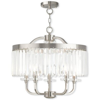Caroline 5-Light Crystal Chandelier