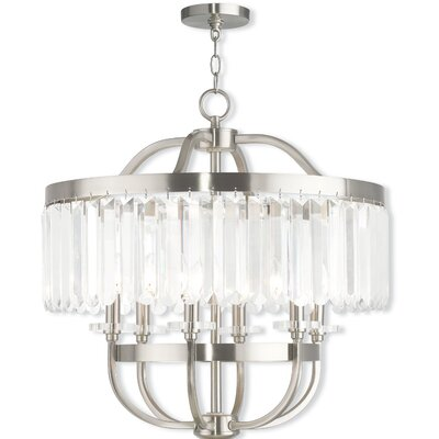 Caroline 6-Light Crystal Chandelier