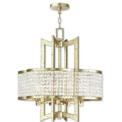 Rickmansworth 4-Light Crystal Chandelier
