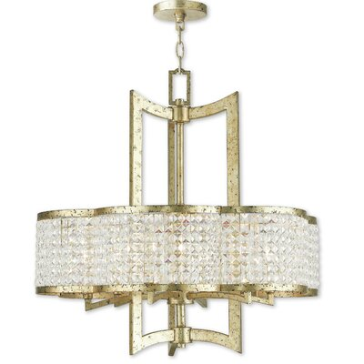 Wetzel 6-Light Crystal Chandelier