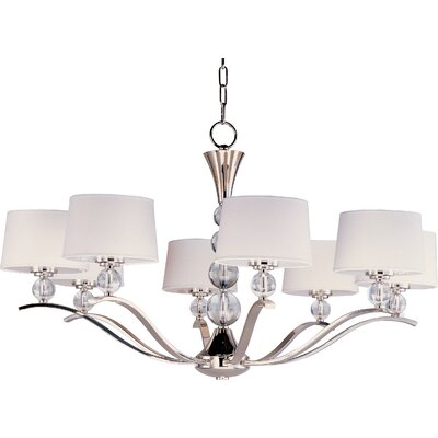 Rojo 8-Light Shaded Chandelier