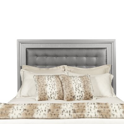 Lasne Low Profile Upholstered Panel Headboard Size: King/California King