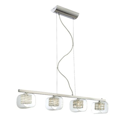 Devere 4-Light Kitchen Island Pendant
